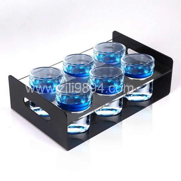 有机玻璃酒杯托架