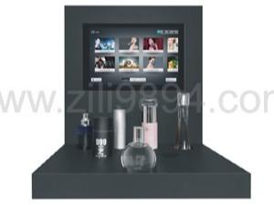 自带磁场吸引力香水亚克力展示架