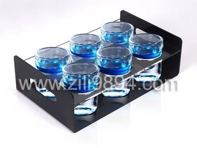 实用型有机玻璃酒杯托架