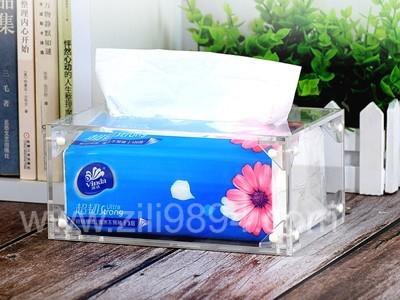 定制亚克力纸巾盒找良心厂家广州至丽