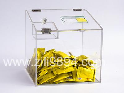 商店糖果食品透明亚克力盒子